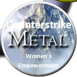 Counterstrike Metal Logo