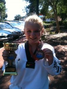Chloe Wild Takes Gold & Bronze