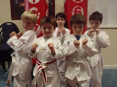 Our New Bunbury Yellow Dragons (Jaxon, Daniel, Shalea, Will & Tomas