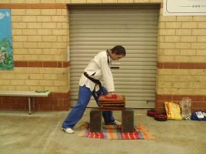 Master Justin Warren Lines Up The Tiles