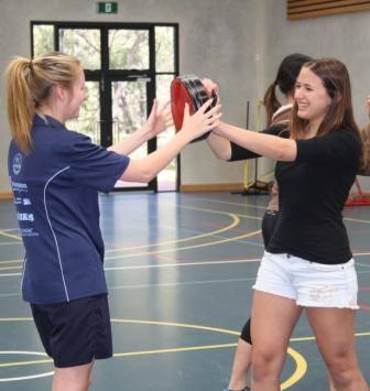 Amber Hurst & Jocelyn Brown  Having Fun With Striking