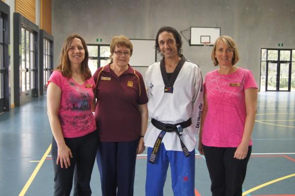 Donna Stewart, Jo Wittorff, Justin Warren & Linda Brown