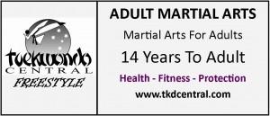 Adult Martial Arts Sign - Logo