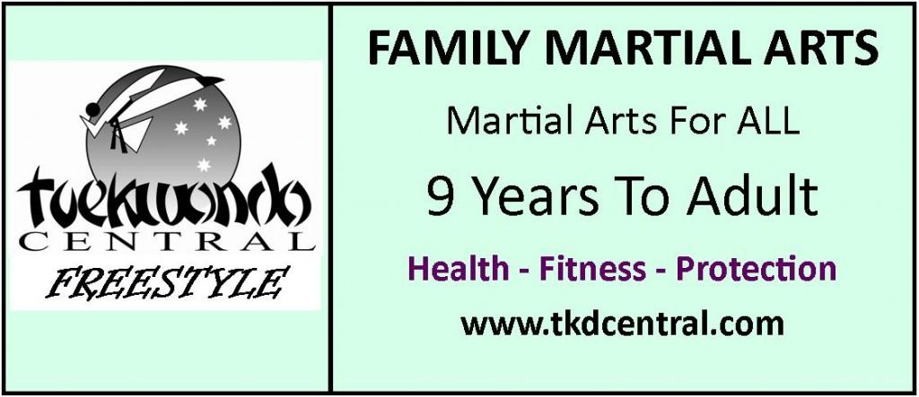Family Martial Arts Sign - Logo