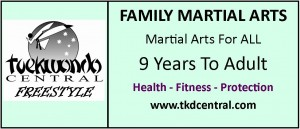 Family Martial Arts Sign - Logo