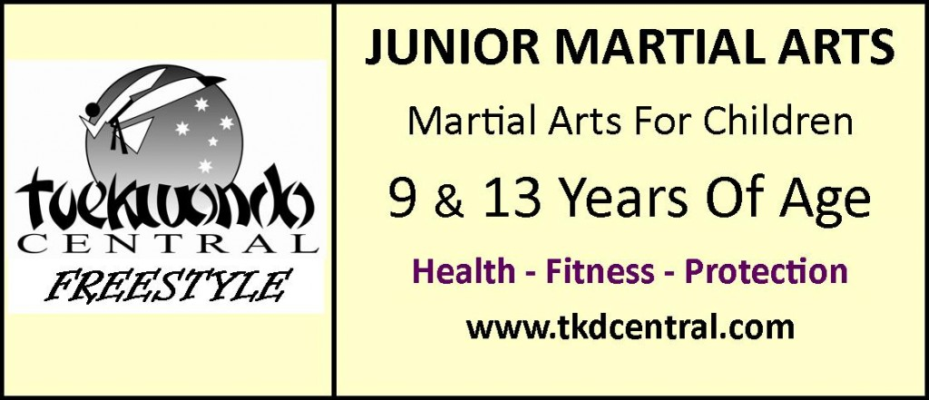 Junior Martial Arts Sign - Logo