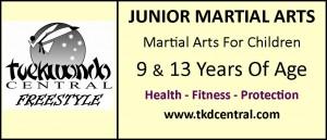 Junior Martial Arts Sign - Logo