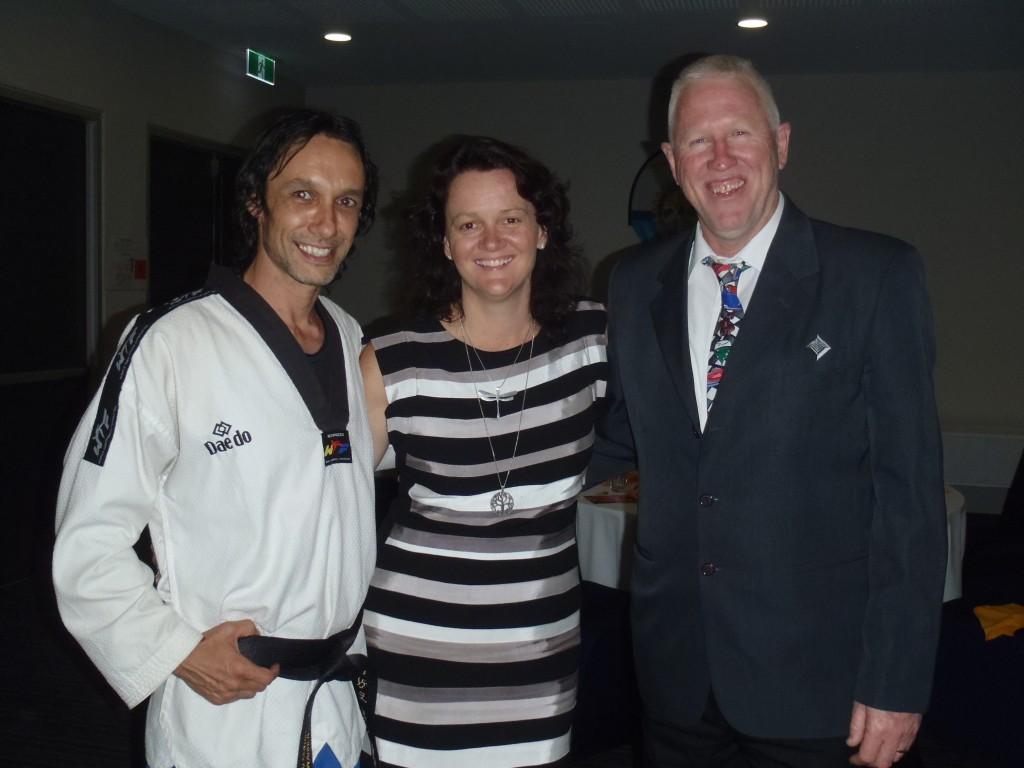 Master Justin Warren, Leanne Oshea & Allan
