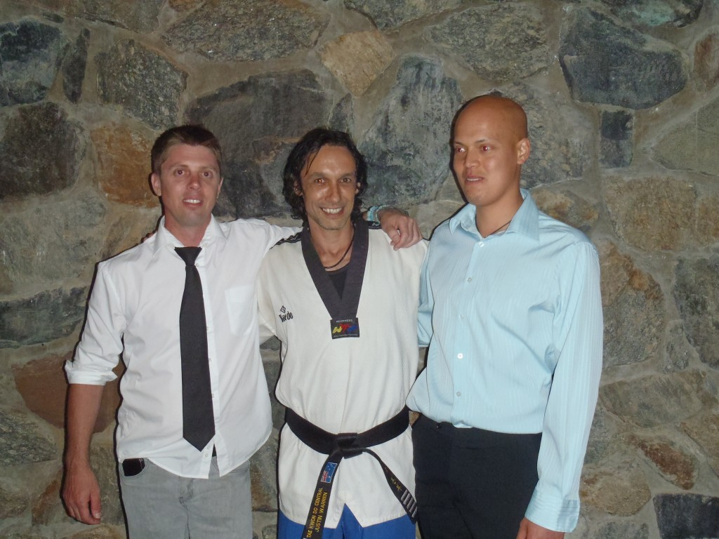 Master Justin Warren with YAP Participants