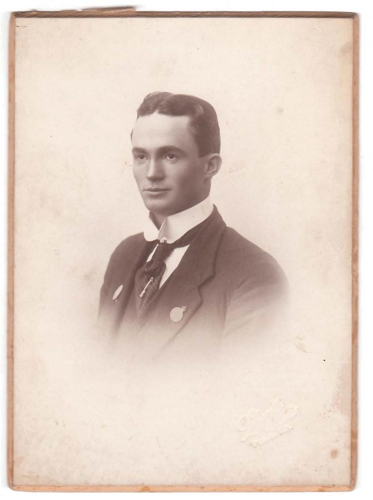 Leonard Lewis -  (Gallipoli first landing survivor) - (Master Justin Warren Great Grandfather)