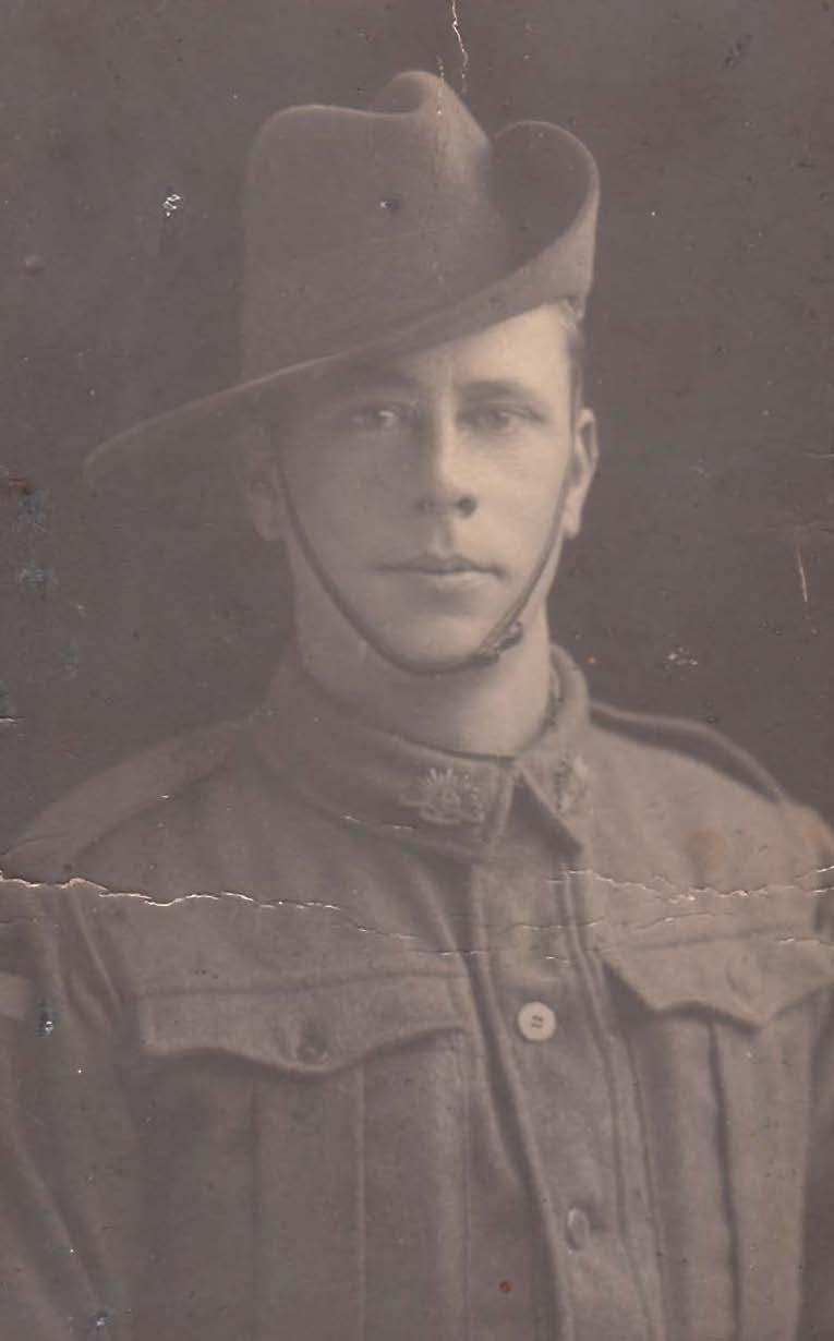 William Warren - Gallipoli Military Photo ( Master Justin Warren Great Grandfather)