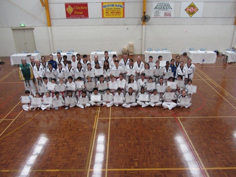 Black Belt Grading 2015 April