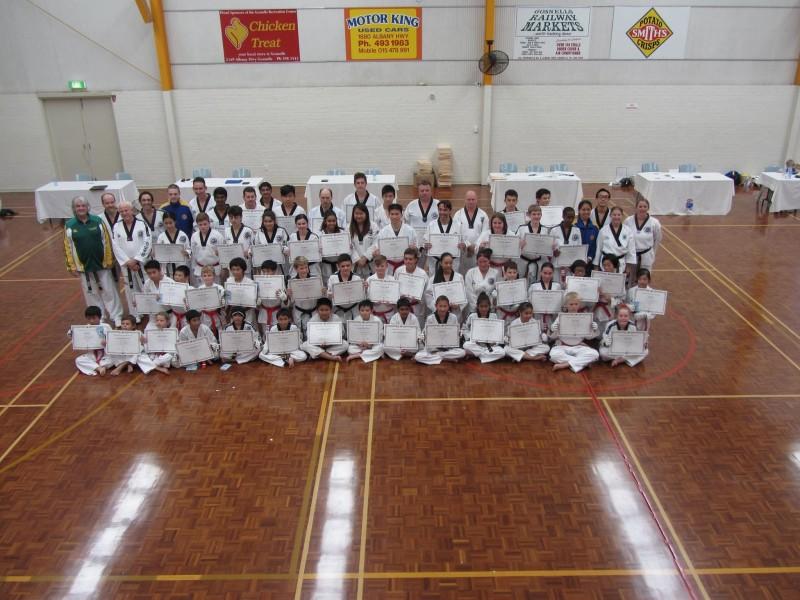 Black Belt Grading 2015 April