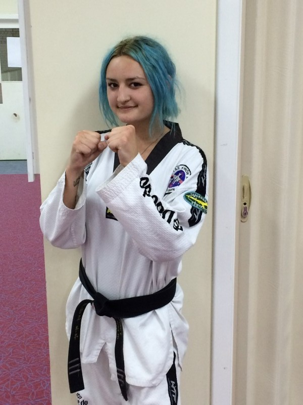 Ajana Plunkett Zeros in on 4th Dan Blackbelt