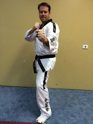 David Browne earns his Black Belt in Taekwondo www.tkdcentral.com