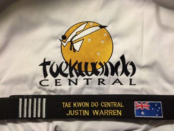 Justin Warren Passes 6th Dan Blackbelt In Taekwondo