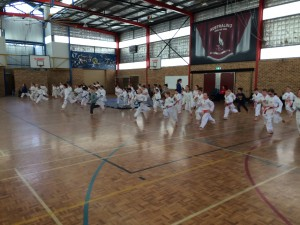 Staying Safe Seminar Warm Up - www.tkdcentral.com