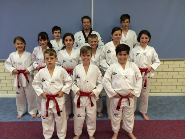 Taekwondo Central Members Prepare For The 2016 December Black Belt Grading