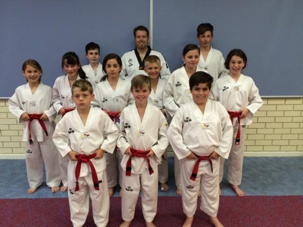 Taekwondo Central Members Prepare For The 2016 December Black Belt Grading