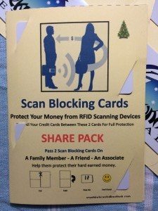 Scan Blocking Cards Share Pack 1