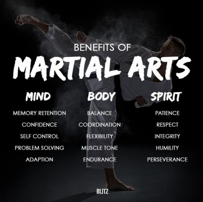 Benefits Of Martial Arts