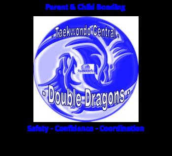 Double Dragon Logo - Full Detail