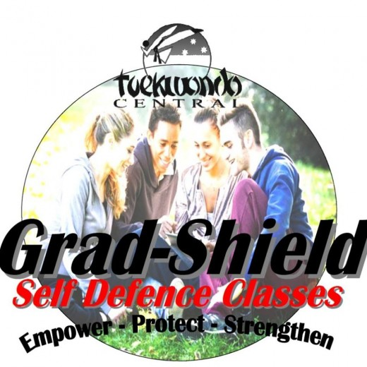 Grad-Shield Logo