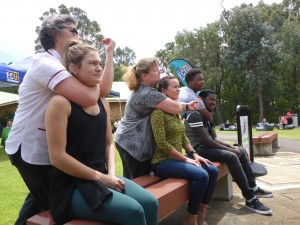 How To Back Choke - Nurses Defence - ECU Wellness Day - www.tkdcentral.com
