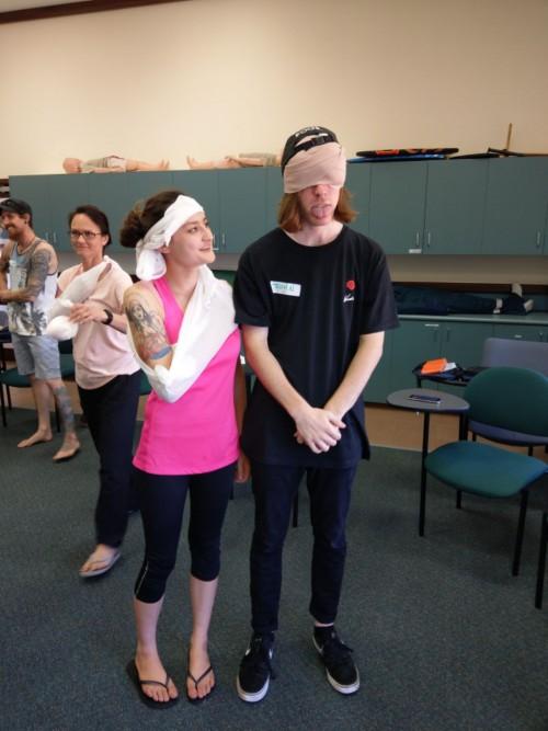 Sports Injuries - Ajana Plunkett & John Crawford - www.tkdcentral.com