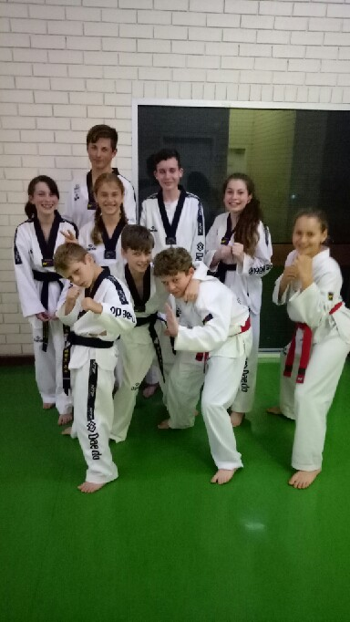Taekwondo Central Junors Focus On Black Belt Grading - www.tkdcentral.com