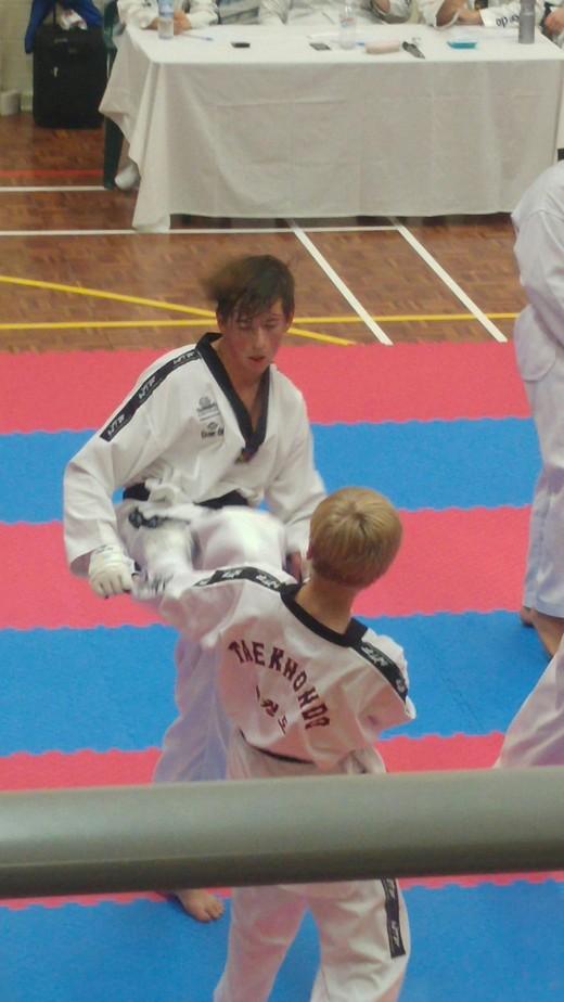Declan Higgins Black Belt Grading - www.tkdcentral.com