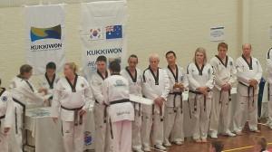 Declan Higgins & Taekwondo Ohdokwan Black Belt Panel