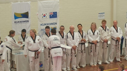 Declan Higgins & Taekwondo Ohdokwan Black Belt Panel