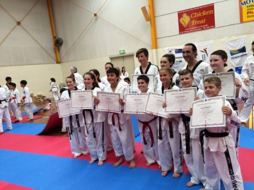 Our New Black Belts - www.tkdcentral.com