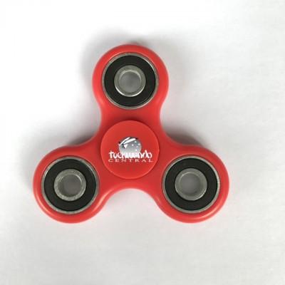 Taekwondo Central Spinner Red