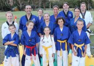 Taekwondo Central Demo Team Burekup 24 Feb 2018