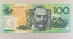 $100 Note