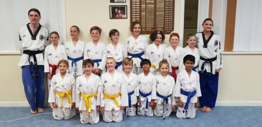 Bunbury Taekwondo Central Junior Class