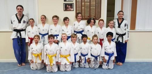 Bunbury Taekwondo Central Junior Class