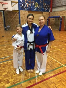The Jaunceys Edged Closer to Black Belt