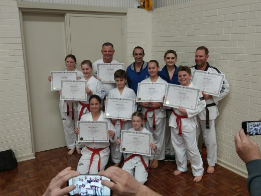 Team Central - Taekwondo Central Members Pass Their Belt B - www.tkdcentral.com