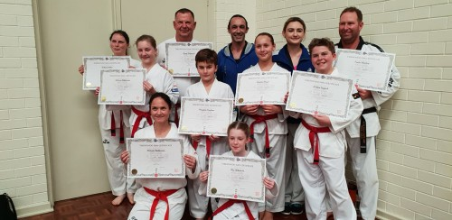 Team Central - Taekwondo Central Members Pass Their Belt - www.tkdcentral.com