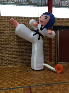 Inflatable Taekwondo Kicker - www.tkdcentral.com