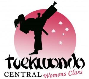 Tkdcentral - womens Only Logo White
