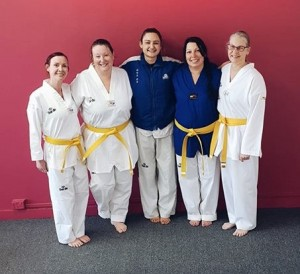 First Womens Day Class Members Grade 2018 b - www.tkdcentral.com