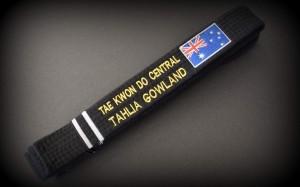 Tahlia Gowland Black Belt Pic