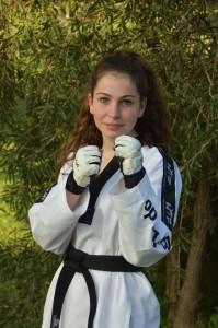 Tahlia Gowland as a Black Belt