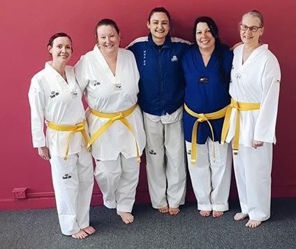 Womens Class First Grading 2018 - www.tkdcentral.com