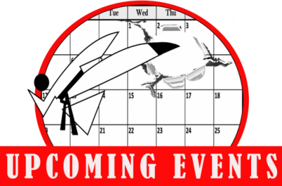Upcoming Events Logo - www.tkdcentral.com