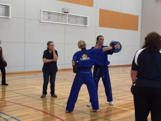 Deflecting Strikes Is A Must For Protection - ECU Self Defence - www.tkdcentral.com
